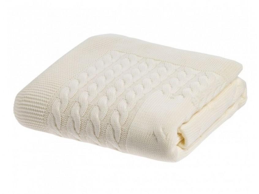Плед Reframe, молочно-белый