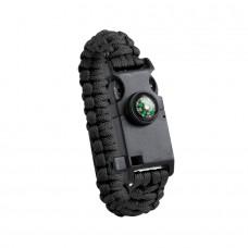 Походный браслет многофункциональный KUPRA, Черный