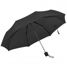 Зонт складной FOLDI, механический, Черный