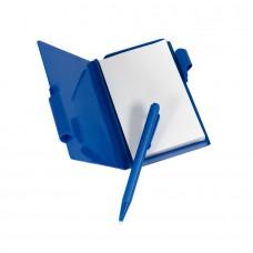 Блокнот для записей с авторучкой, Синий