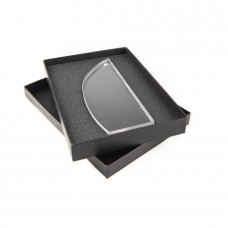 Награда TUSK в подарочной коробке, матовые грани, 85х210х20 мм, акрил, прозрачный