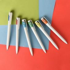 Ручка шариковая из экопластика KIKI ECOLINE, Серый