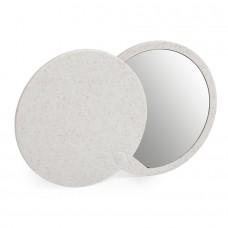 Складное зеркало GRADIOX, пластик с пшеничным волокном, белый, бежевый