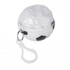 Дождевик FOOTBALL, белый, черный
