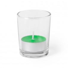 Свеча PERSY ароматизированная (яблоко), Зеленый