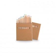 Набор цветных карандашей BOYS (12шт), коричневый