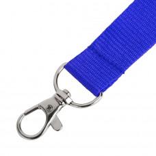 Ланьярд NECK, синий, полиэстер, 2х50 см, Синий