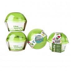 Набор для выращивания микрозелени.  КРЕСС-САЛАТ, зеленый, белый
