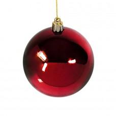 Шар новогодний GLOSS, Красный