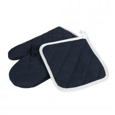 Набор: прихватка и рукавица LESTON, Темно-синий