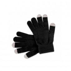 Перчатки  сенсорные ACTIUM, чёрный, акрил 100%, Черный