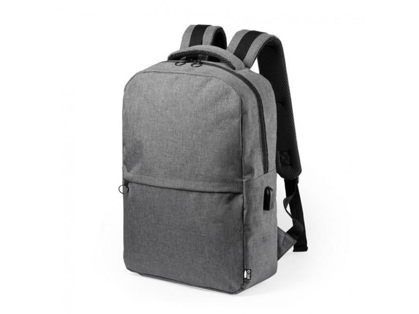 Рюкзак KONOR из rPET/рециклированного полиэстера, Серый
