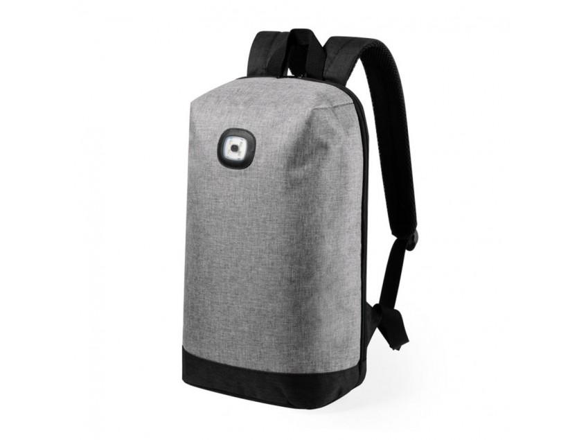 Рюкзак KREPAK со световым индикатором, Серый