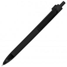 Ручка шариковая FORTE SOFT, покрытие soft touch, Черный