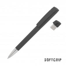 Ручка с флеш-картой USB 16GB «TURNUSsoftgrip M»