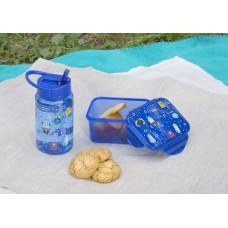 Набор с детским принтом (ланч-бокс, бутылка 0,45 л)