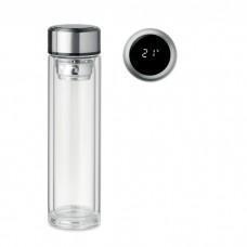 Бутылка с сенсорным термометр