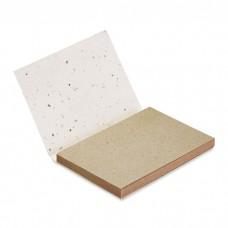 Блок стикеров с семенами