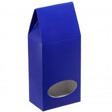 Коробка с окном English Breakfast, синяя