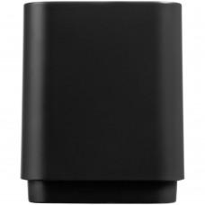 Беспроводная колонка с подсветкой логотипа Glim, черная