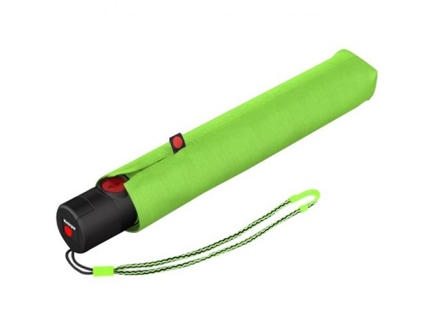 Складной зонт U.200, зеленое яблоко