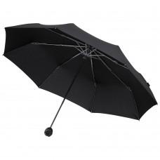 Зонт складной Floyd с кольцом, черный