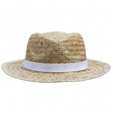 Шляпа Daydream, бежевая с белой лентой