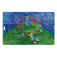 Флешка «Футбол via Матисс», 8 Гб, белая