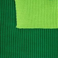 Шарф Snappy, зеленый с салатовым