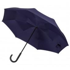Зонт наоборот Unit Style, трость, темно-фиолетовый