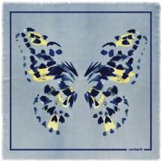 Платок Madeleine, голубой