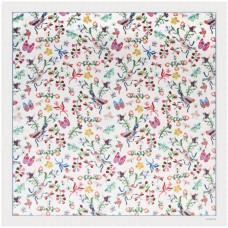Платок Butterfly Silk, белый