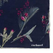 Платок Iris Silk, темно-синий