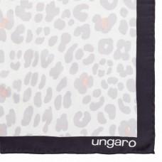 Платок Leopardo Silk, серый