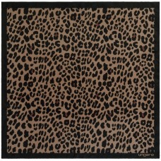 Платок Leopardo Silk, коричневый