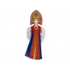Подарочный набор Марфа: кукла, платок