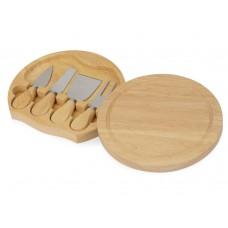 Подарочный набор для сыра в деревянной упаковке Reggiano