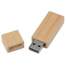 USB-флешка на 16 Гб Woody с магнитным колпачком
