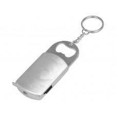 Брелок-открывалка с рулеткой и фонариком Open