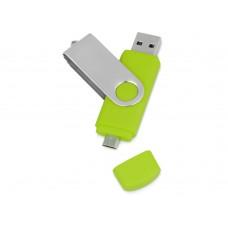 USB/micro USB-флешка на 16 Гб Квебек OTG