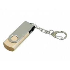 USB 3.0- флешка промо на 64 Гб с поворотным механизмом