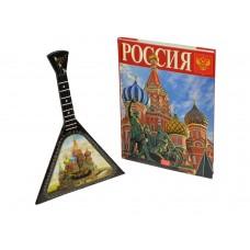 Подарочный набор Музыкальная Россия: балалайка, книга Россия
