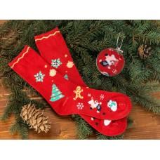 Носки в шаре Рождество женские