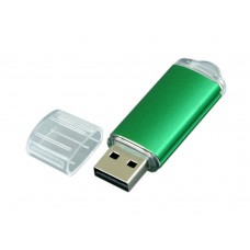 USB 2.0- флешка на 8 Гб с прозрачным колпачком