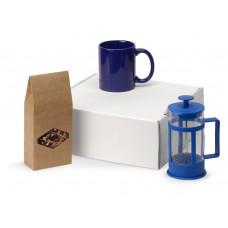 Подарочный набор с чаем, кружкой и френч-прессом Чаепитие