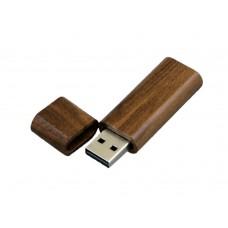 USB 2.0- флешка на 32 Гб эргономичной прямоугольной формы с округленными краями