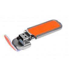 USB 2.0- флешка на 4 Гб с массивным классическим корпусом