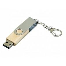 USB 2.0- флешка промо на 16 Гб с поворотным механизмом