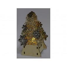 Декоративная фигура Ель с электрической свечой