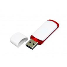 USB 2.0- флешка на 8 Гб с цветными вставками